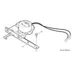 GE JTP17SC3SS door lock diagram