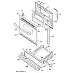 GE JGBS22BEA5WH door & drawer parts diagram
