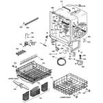 GE GSD5500G00CC body parts diagram