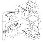 GE JGRP17WEW5WW gas & burner parts diagram