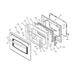 GE JT912SF1SS door diagram