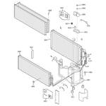 GE AZ25E09D5BM1 unit parts diagram
