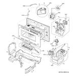 GE ZSC2001FSS01 interior parts (1) diagram