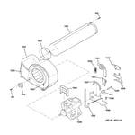 GE DPXH46GA4CC motor diagram