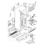 GE GTS20IBNBWW cabinet diagram