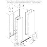 GE GSS22IBMBWW door kit diagram