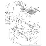 GE PSA22MIMDFBB ice maker & dispenser diagram