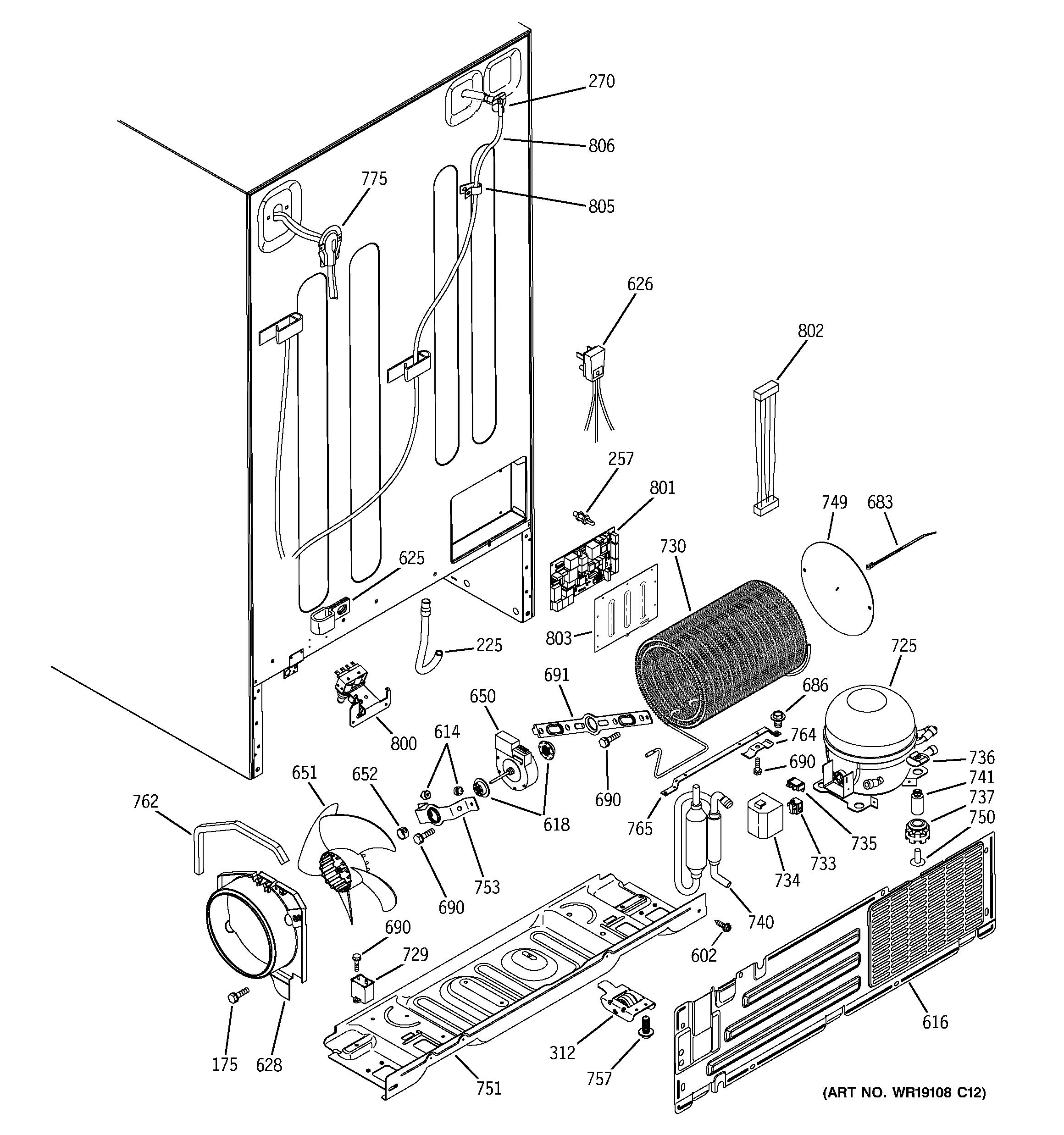 Exciting Kitchenaid Superba Refrigerator Parts Diagram Gallery ...