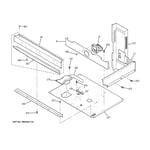 GE JT952CF5CC center spacer diagram