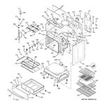 GE JB968TH4WW body parts diagram