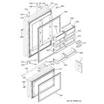 GE ZIC36NMASSRH doors diagram