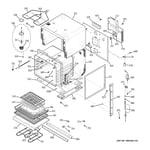 GE JCK915WF2WW body parts diagram