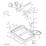 GE JGP330CEK1CC burner parts diagram