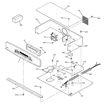 GE JT955BF3BB control panel & cooktop diagram