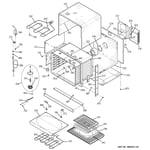 GE ZET938SF5SS body parts diagram