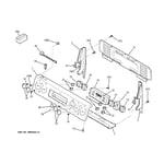GE ECBP82SK2SS control panel diagram