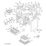 GE JCBP85SK3SS body parts diagram
