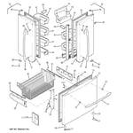 GE PFCF1NFXAWW doors diagram