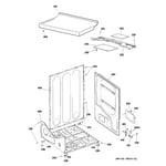 Hotpoint NWXR483EG7WW cabinet diagram
