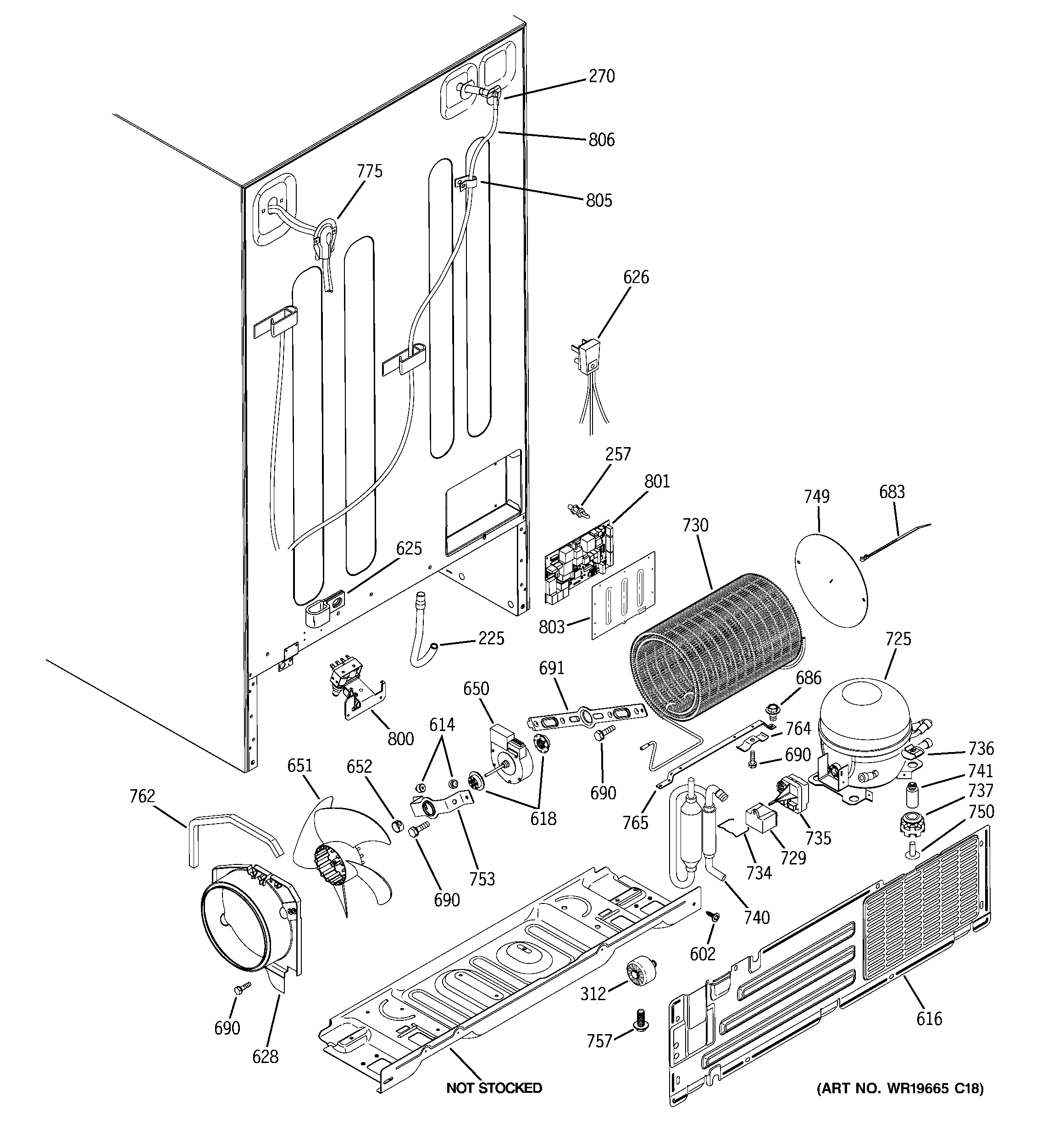 Gshf5kgxccww Ge Wiring Schematic Electrical Diagrams Roketa Maui 50 Diagram Model Side By Refrigerator Genuine Parts