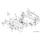 GE PB970KM2CC control panel diagram