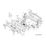 GE PB970SM1SS control panel diagram