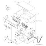 GE JKP55DP1WW control panel diagram
