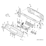 GE PB975SP2SS control panel diagram