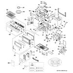 GE PVM1870DM2WW microwave diagram