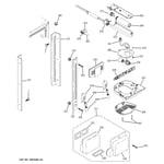 GE PDSS0MFXALSS fresh food section diagram
