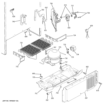 GE GTH18DBRCRBB unit parts diagram