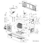 GE GFSS6KIXCSS unit parts diagram