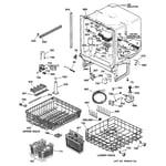 GE GSD4940C01SS body parts diagram