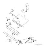 GE JGBS19GER3SA gas & burner parts diagram