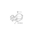 GE JCKP30BM1BB door lock diagram