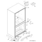 GE GDSS0KCXERSS case parts diagram