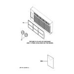 GE AER05LQQ1 room air conditioner diagram