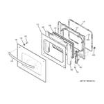 GE JTP70SP2SS door diagram