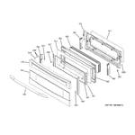 GE PB979SP4SS upper door diagram