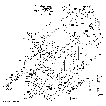 GE JGB295SER2SS body parts diagram
