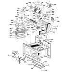 GE PSB1000NBB01 interior parts (2) diagram