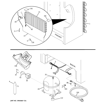 GE FUF21SVERWW unit parts diagram