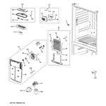 GE GFSL6KEXDLS fresh food section diagram