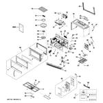GE JVM1540DP1WW microwave diagram