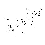 GE ZEK958SM5SS convection fan diagram
