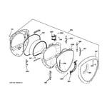 GE PFDS455GL2MV door diagram