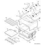 GE PB975SP2SS upper oven diagram