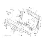 GE JB640SIR8SS control panel diagram