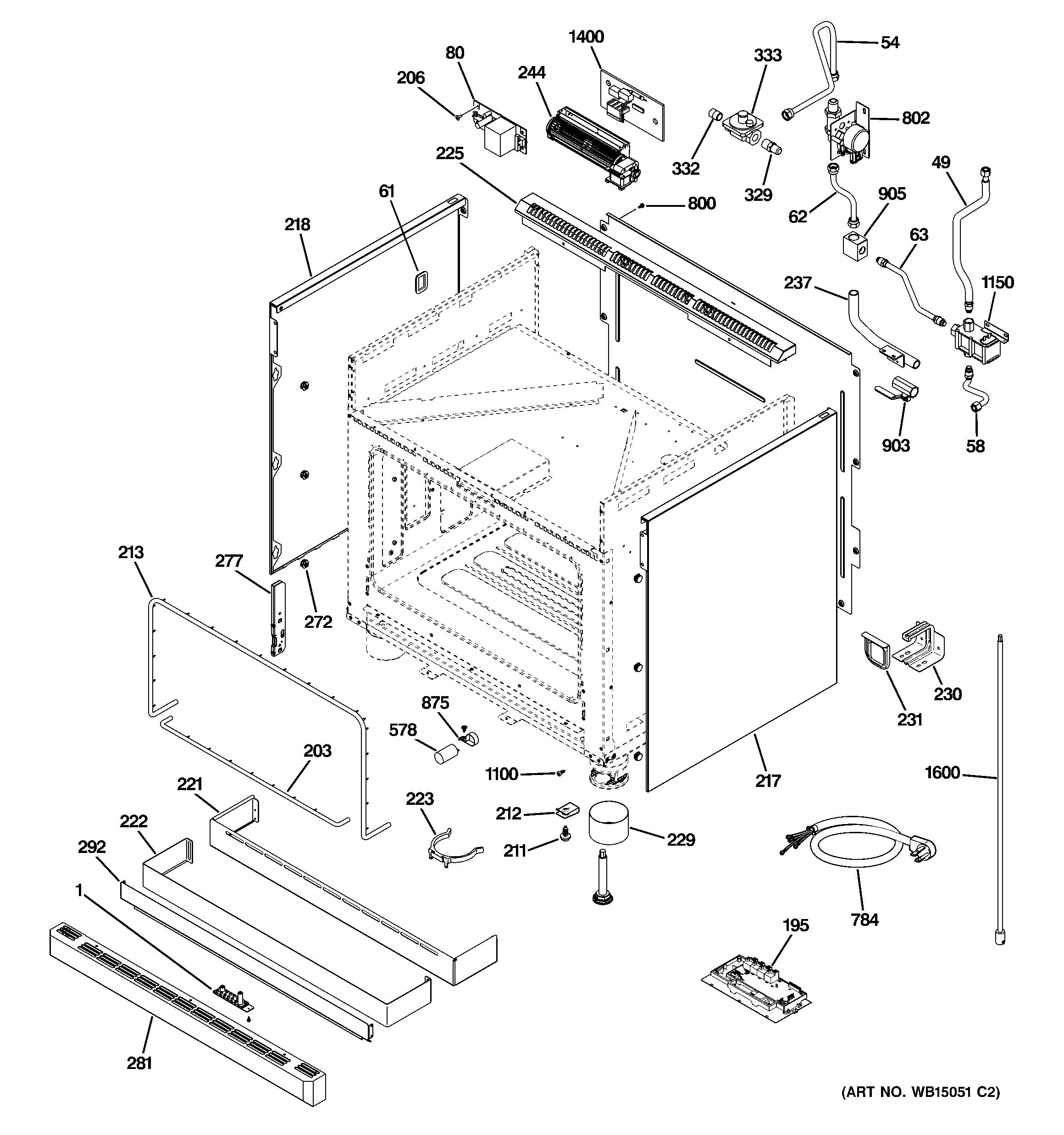 Ge  Gas Range   Parts