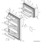 GE GTH18LCDERBB doors diagram